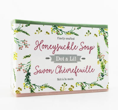 Dot & Lil Honeysuckle Bar Soap