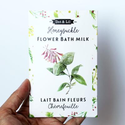 Dot & Lil Honeysuckle Flower Bath Milk Sachet