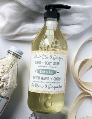 Dot & Lil White Tea And Ginger Liquid Soap