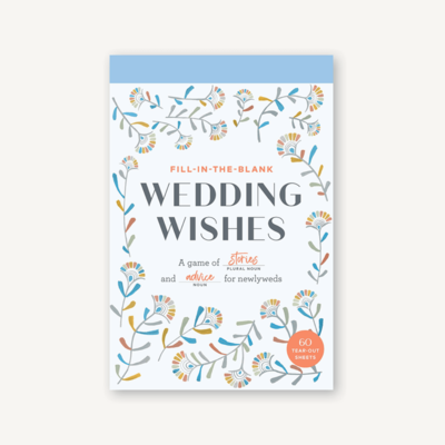 Fill In The Blank Wedding Wishes