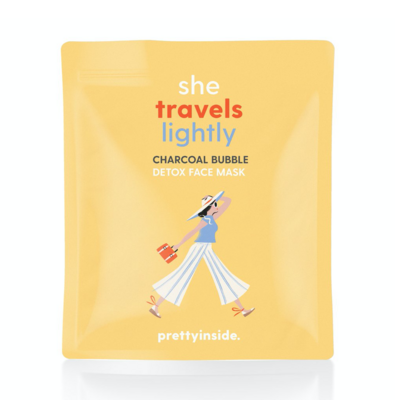 Musee Face Mask: She Travels Lightly