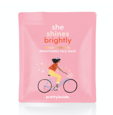Musee Face Mask: She Shines Brightly