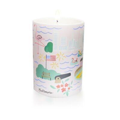 Baltimore Ceramic Candle
