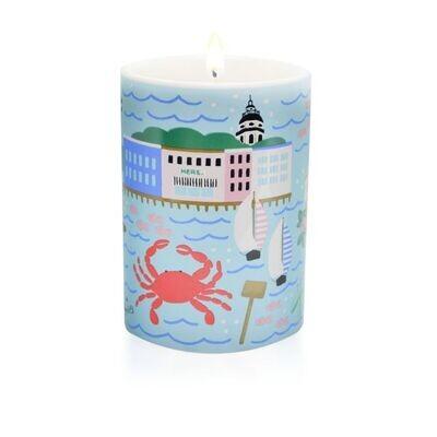 Annapolis Naptown Ceramic Candle