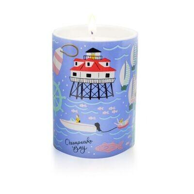 Chesapeake Bay Ceramic Candle