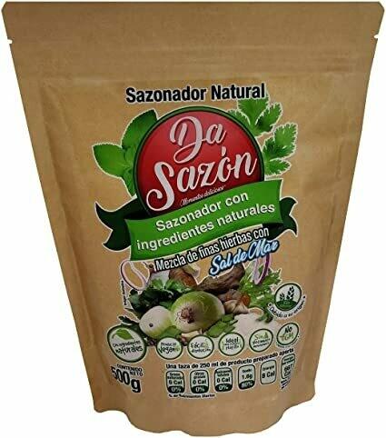 Da Sazón Sazonador Vegetal Sin Grasa Animal (Antes Lemi-Sano) 500 gr.