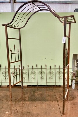 Japanese style Arbor with finials