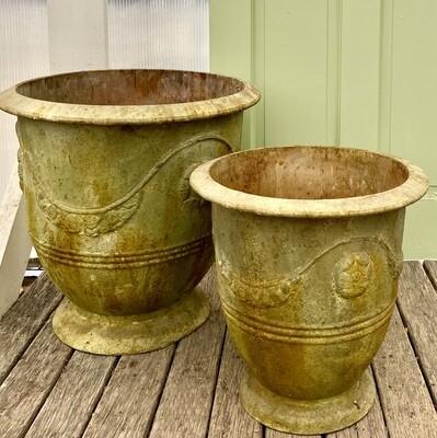 Saffron Metal Pot