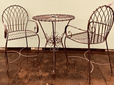 Swirl Table & 2 Chairs