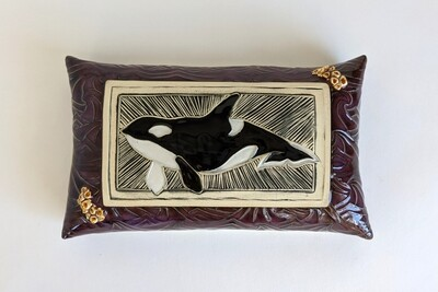 Orca Wall Pillow