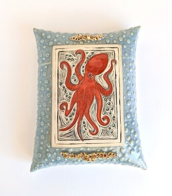 Limited Edition Octopus Wall Pillow