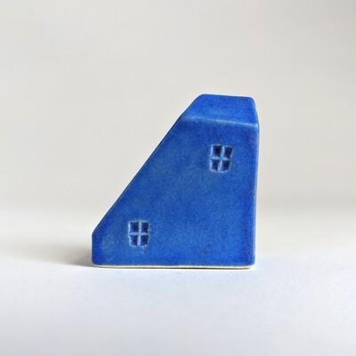 Simple Matte Blue Tiny House