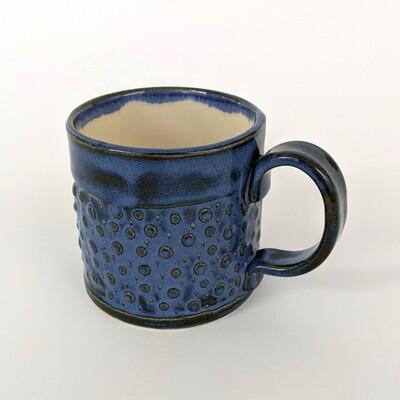 Small Polka Dot Glazed Mug