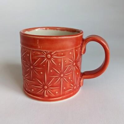 Small Starburst Glazed Mug