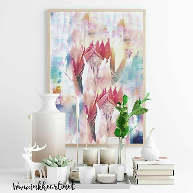 Proteas Print