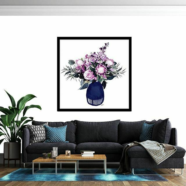 Jezzabelle Vase  Print