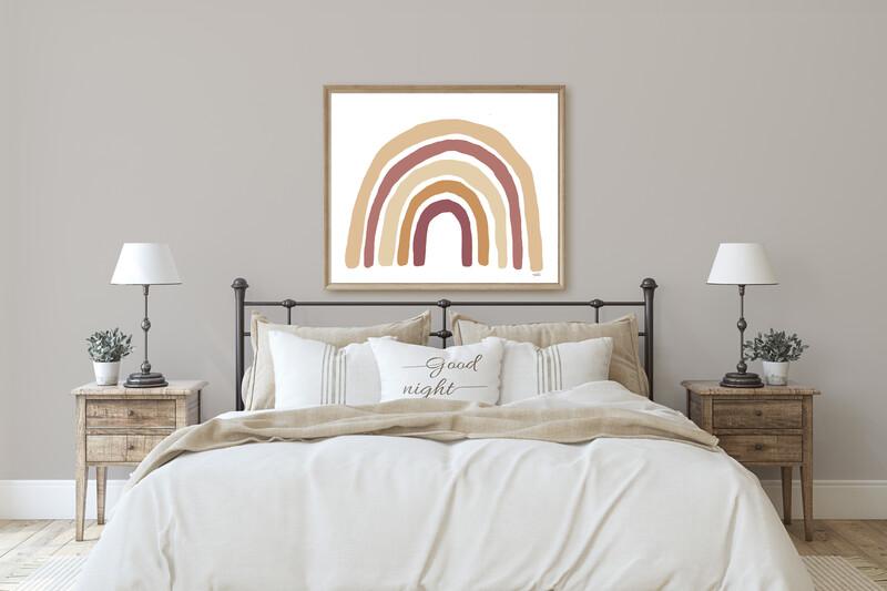 Rainbow Kombi landscape Print