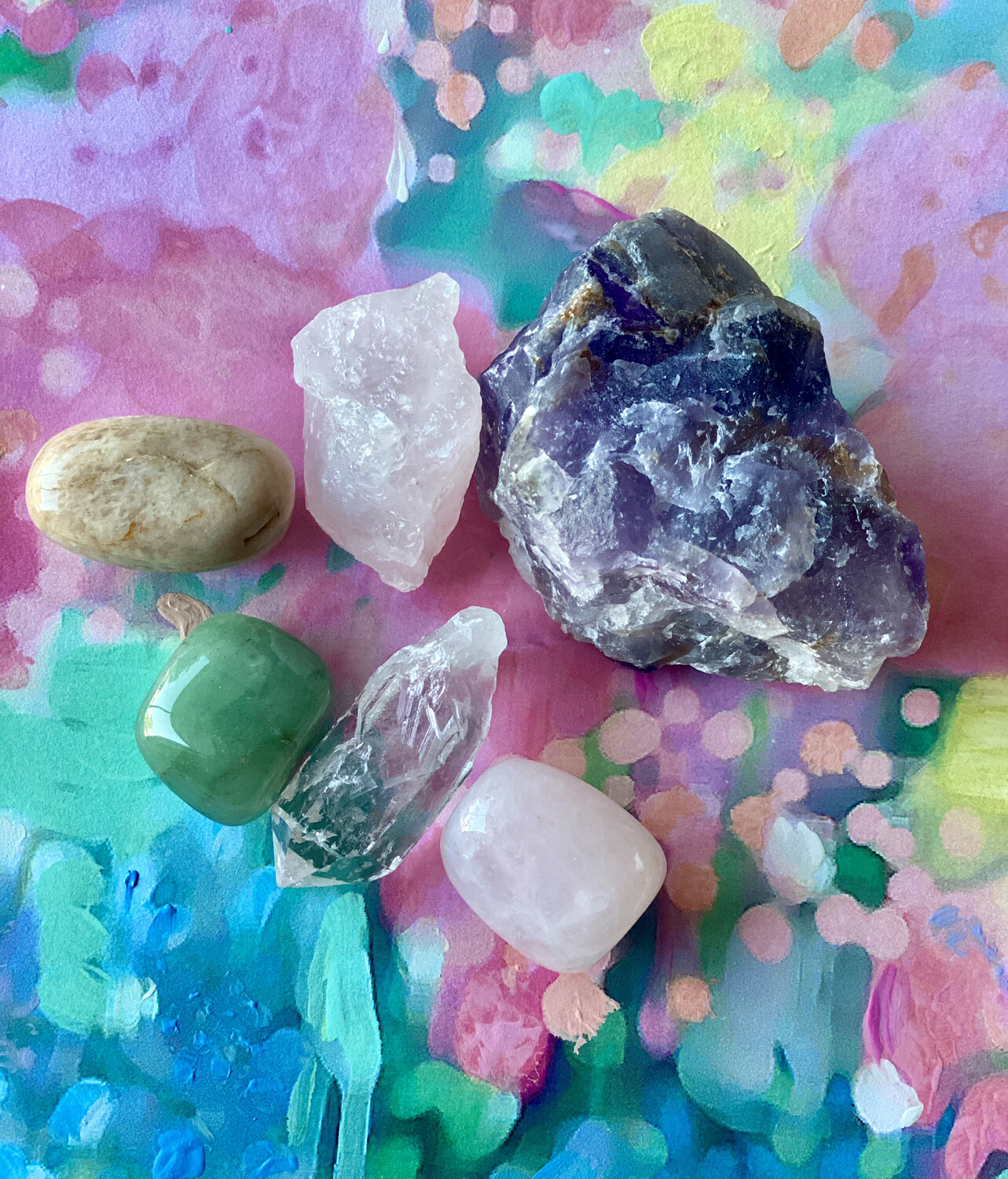 Intuitively Chosen Crystal Set (1)