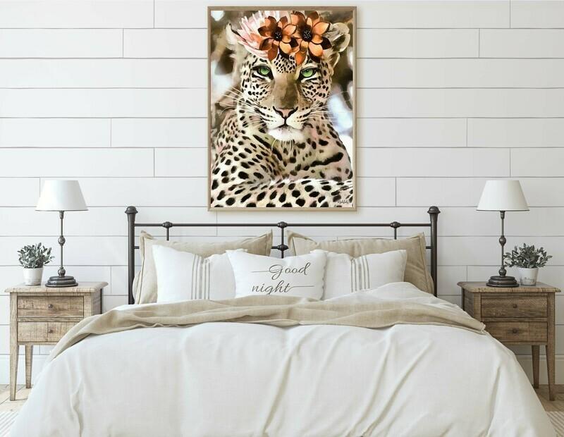 Lazra Leopard Print