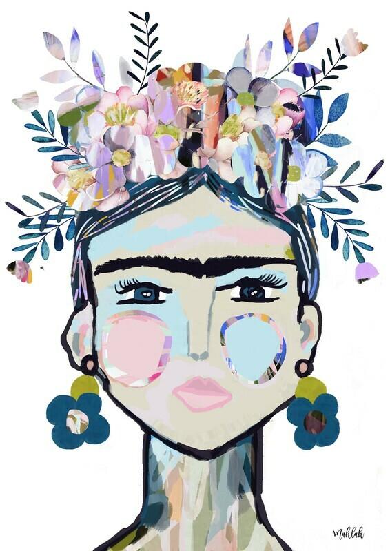Frida (White Jabiru) Print