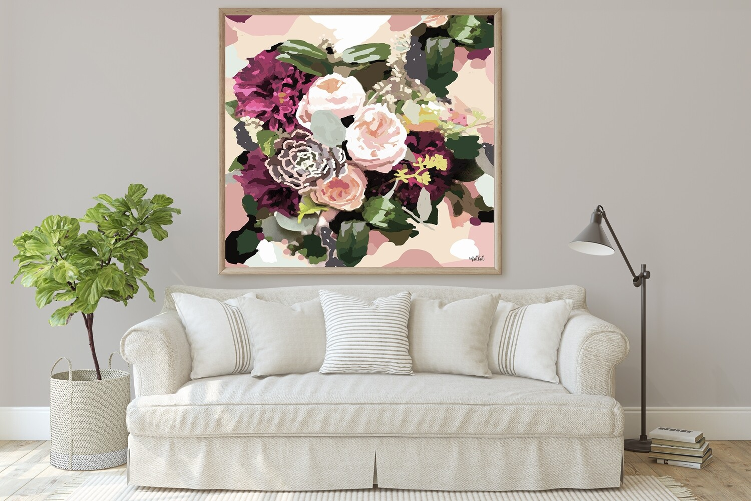 Sothern Flowers (square)  Print