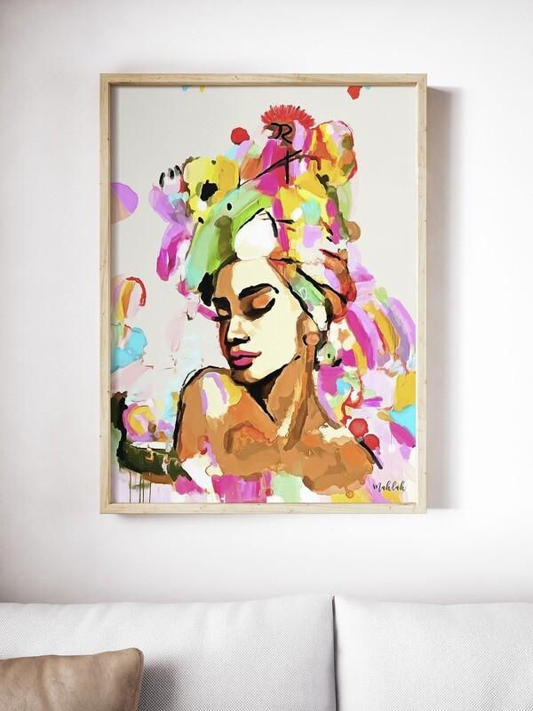 Amor De colour Print