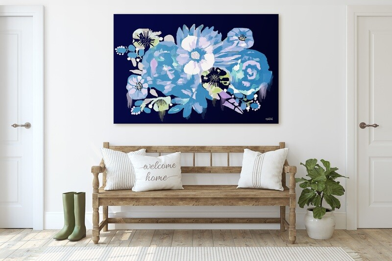 Flower Eclipse Print