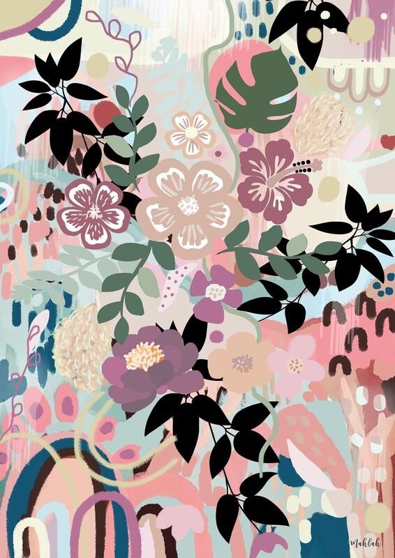 Dream Garden Print