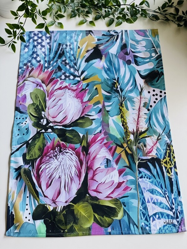 Tea Towel ( Proteas)