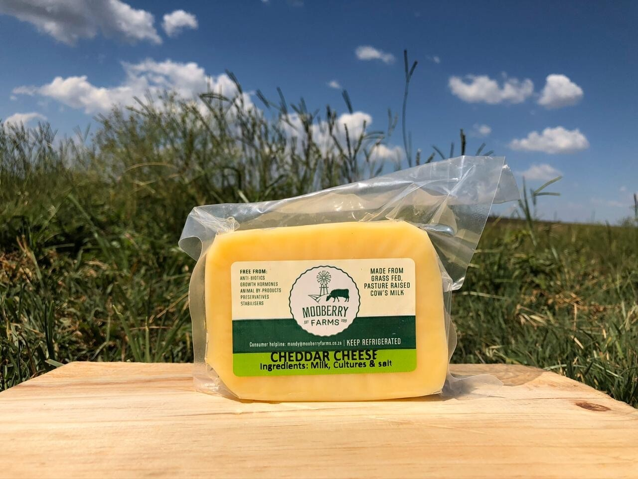 Mooberry Cheddar Cheese 250g