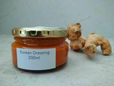 Korean dressing in 200ml glass jar
