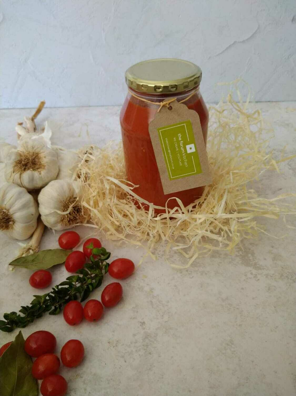 Napolitana pasta sauce in  500ml glass jar
