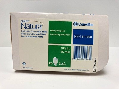Convatec Natura® Two-Piece Drainable Pouch - Opaque