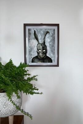 Frank the Bunny Print