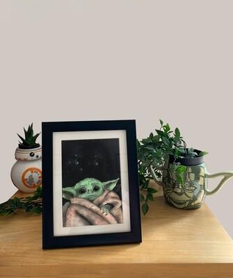 The Child (Baby Yoda) Print