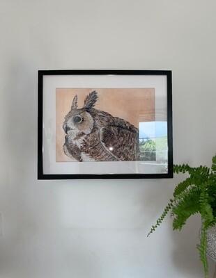 Great Horned Owl Giclee Print