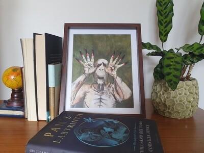 Pale Man Print