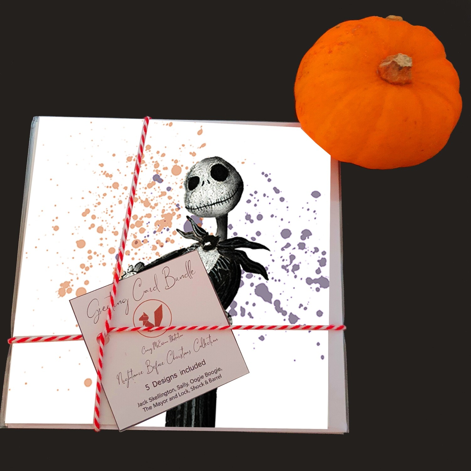 Nightmare Before Christmas Greeting Cards