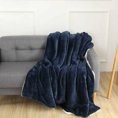 Micro Boa-Sherpa Blanket