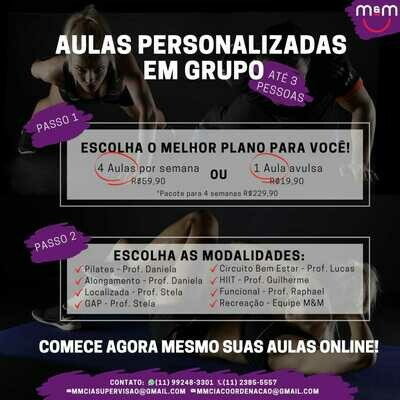 Personal Online - Em grupo - Avulso