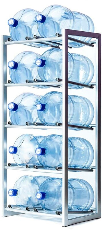 Стойка для 10 бутылей по 19 литров СРП разборная (под заказ)