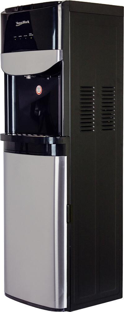 Кулер (с нижней загрузкой) Aqua Work R71-T черный(по заказ)
