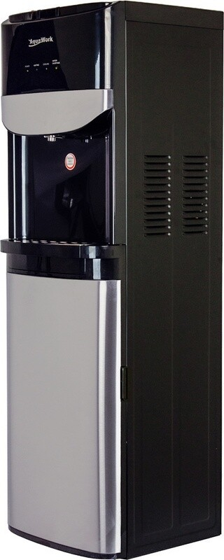 Кулер (с нижней загрузкой) Aqua Work DR71-T черный (под заказ)