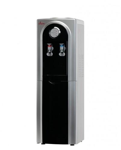 Кулер для воды Apexcool 95 LD напольный черный с серебром