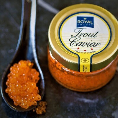 Trout Caviar 100g Glass Jar (Kosher)