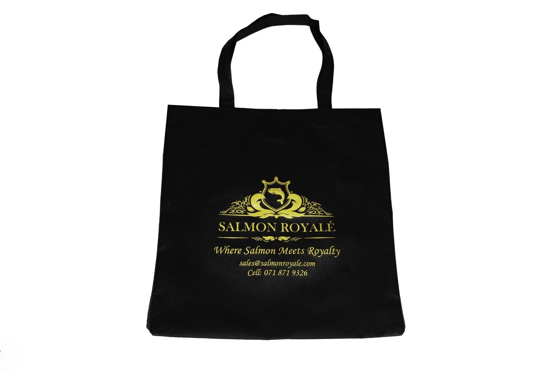Salmon Royale shopper bag