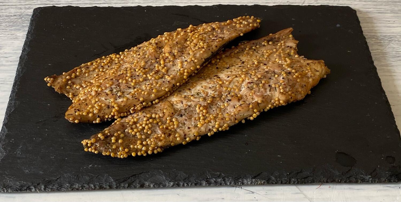 Hot Smoked & Peppered Mackerel- 220g
