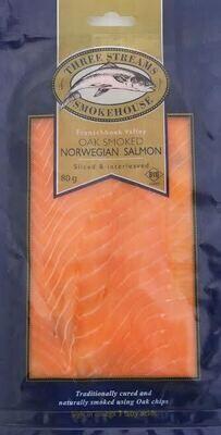 Premium Grade Smoked Norwegian Salmon 500g