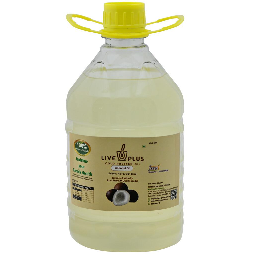 Coconut Oil 3000 ml (Cold Pressed)