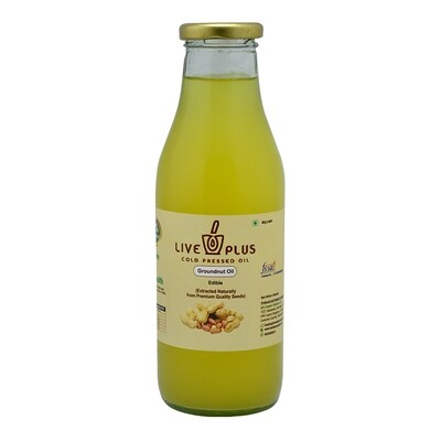 Groundnut Oil 500 ml (Cold Pressed)